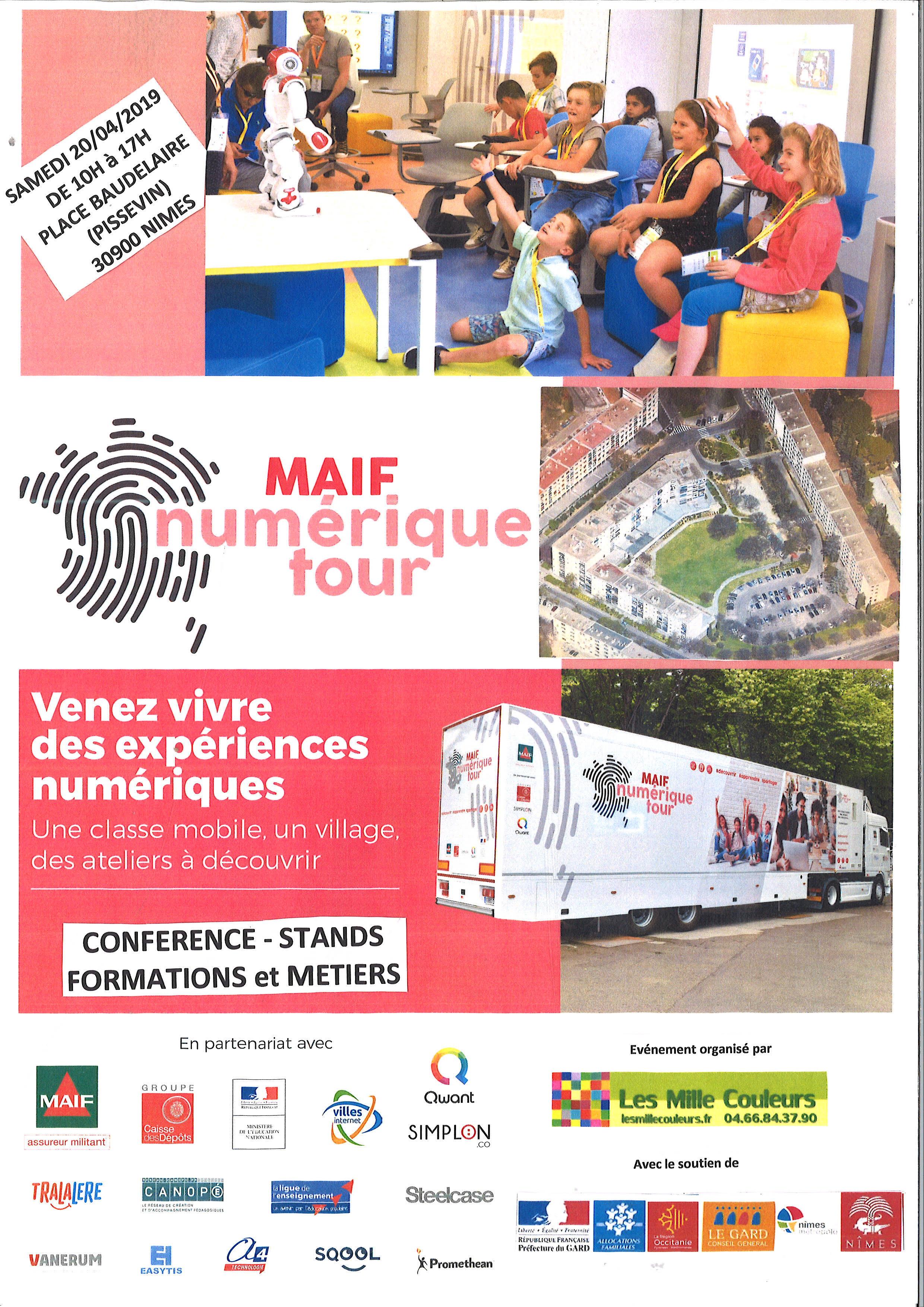 MAIF NUMERIQUE TOUR